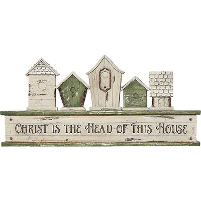 Christ Is the Head Of This House Plaque  -