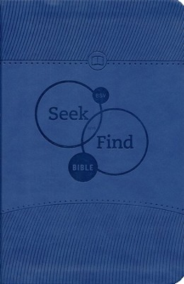 ESV Seek and Find Bible, TruTone, Blue  -