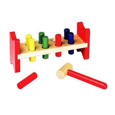 Pound-a-Peg Wood Toy   -     By: Melissa & Doug