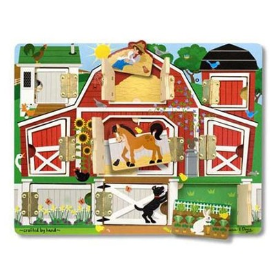 Magnetic Hide & Seek Farm   -     By: Melissa & Doug