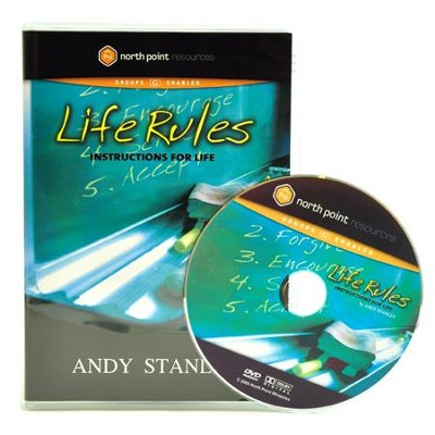 Life Rules: Instructions for Life, DVD   -     By: Andy Stanley