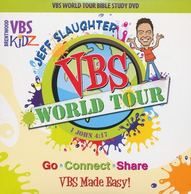 Jeff Slaughter VBS World Tour: VBS Bible Study DVD  -