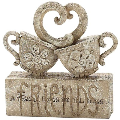 Teacups, Friends Garden Figure  -