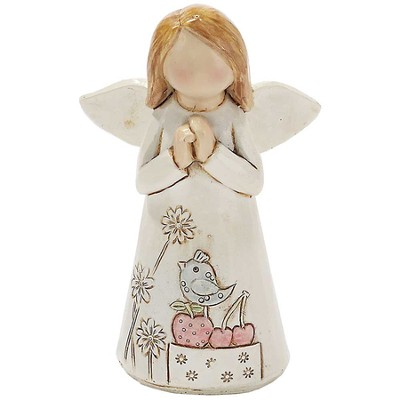 Angel with Praying Hands Figure  -