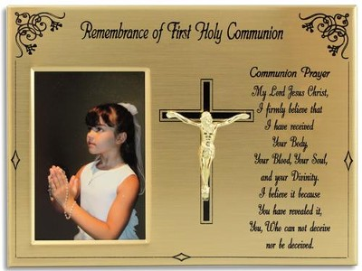 First Communion Photo Frame  -