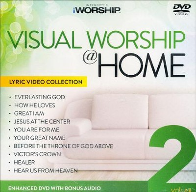 iWorship Visual Worship @ Home, Volume 2 DVD  -
