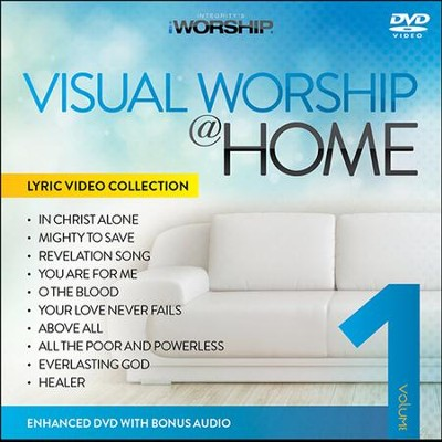iWorship Visual Worship @ Home, Volume 1 DVD  -