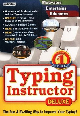 Typing Instructor Deluxe 17.0 on CD-ROM    -