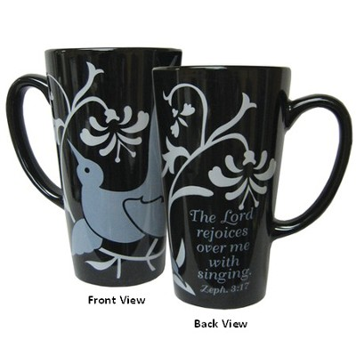 The Lord Rejoices Over Me with Singing Mug   -