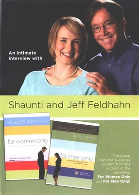 An Intimate Interview with Shaunti and Jeff Feldhahn--DVD  -     By: Shaunti Feldhahn