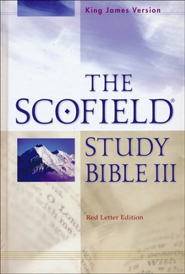 KJV Scofield Study Bible Slightly Imperfect   -