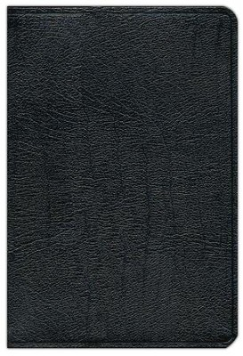 KJV Scofield Study Bible Genuine Leather, Black Thumb-Indexed  - Imperfectly Imprinted Bibles  -