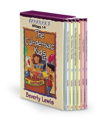 Cul-De-Sac Kids, Volumes 1-6   -     By: Beverly Lewis