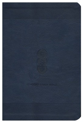 ESV Student Study Bible, TruTone Navy - Imperfectly Imprinted Bibles  -