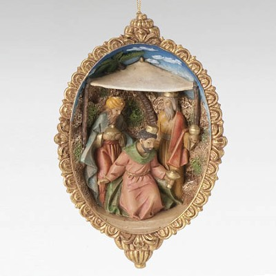 Three Kings, Nativity Ornament  -