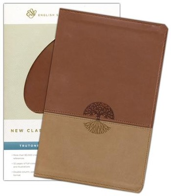 ESV New Classic Reference Bible (TruTone, Brown/Tan, Tree Design)  -