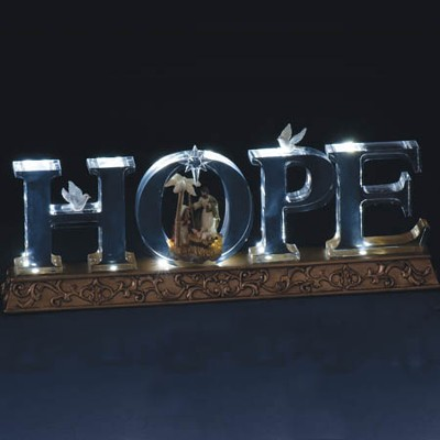 LED Holy Family, Hope  -