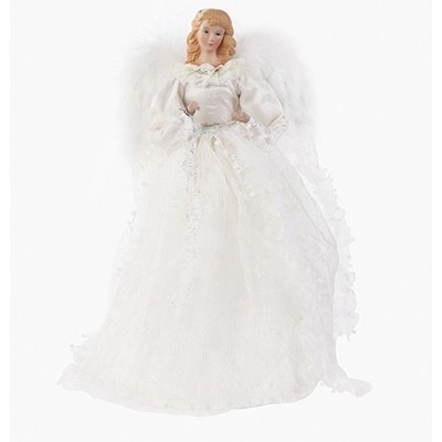 Angel Treetopper, White  -