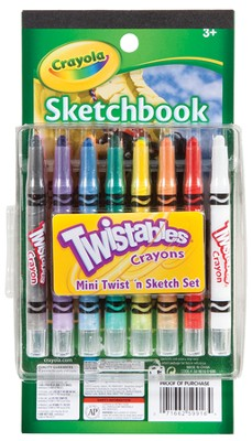 Twistables &#174 Mini Twist 'n Sketch Set  -