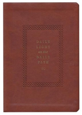Daily Light on the Daily Path (ESV) TruTone  -     By: Jonathan Bagster, Samuel Bagster