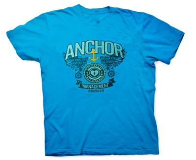 Anchor For the Soul Shirt, Blue, Youth Extra Small  -