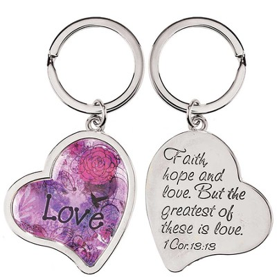 Heart, Love Keyring  -