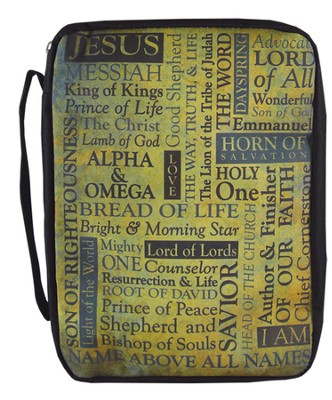 Names of Jesus Bible Cover, Large   -