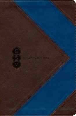 ESV Student Study Bible, TruTone, Brown/Blue, Arrow Design  -