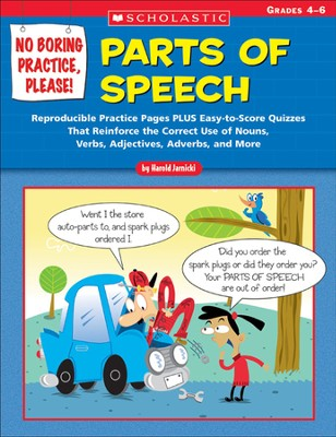 No Boring Practice, Please! Parts of Speech  -     By: Harold Jarnicki