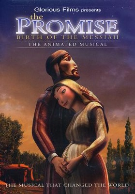 The Promise Birth of the Messiah: The Animated Musical, DVD   -