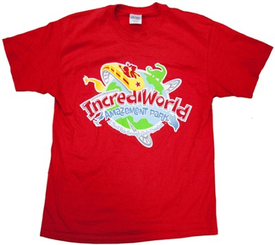 IncrediWorld Amazement Park VBS Adult Extra Large T-Shirt - Slightly Imperfect  -