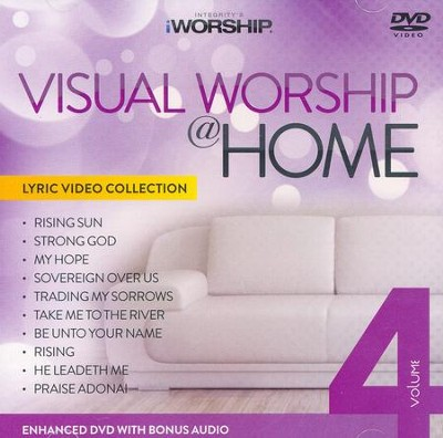 iWorship Visual Worship @ Home, Volume 4 DVD  -