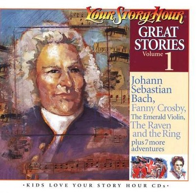 Great Stories Volume #1 - Audiobook on CD            -