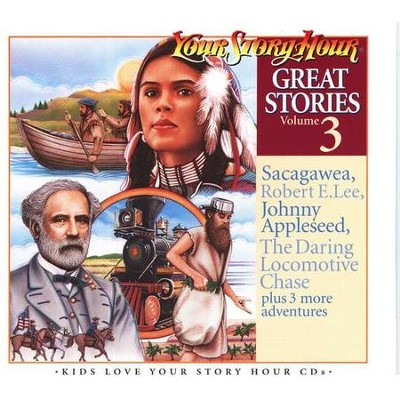 Great Stories Volume #3 - Audiobook on CD            -