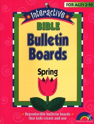 Interactive Bible Bulletin Boards:  Spring  -