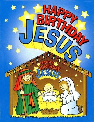Happy Birthday Jesus Puzzle, Pack of 12   -