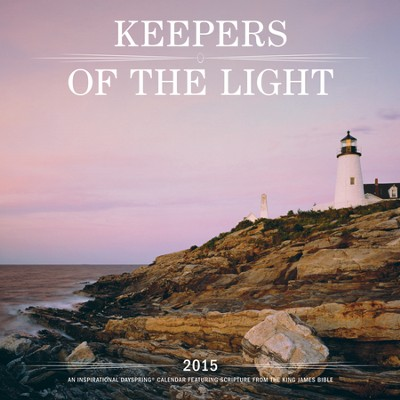 2015 Keepers Of the Light Wall Calendar  -