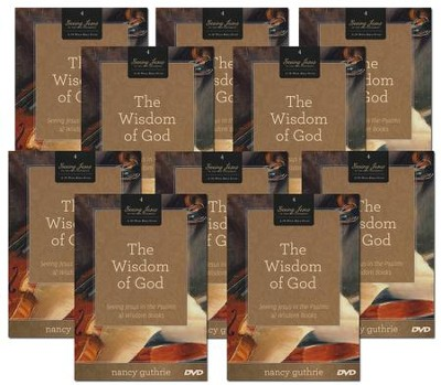 The Wisdom of God 10-Pack (A 10-week Bible Study): Seeing Jesus in the Psalms & Wisdom Books  -     By: Nancy Guthrie