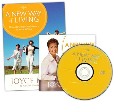 A New Way of Living Book and DVD   -     By: Joyce Meyer
