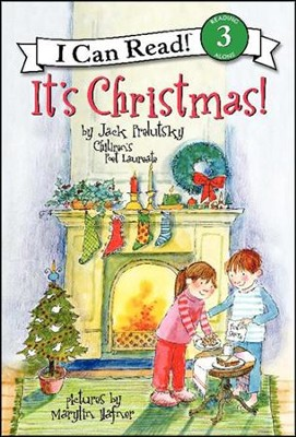 It's Christmas!  -     By: Jack Prelutsky     Illustrated By: Marylin Hafner