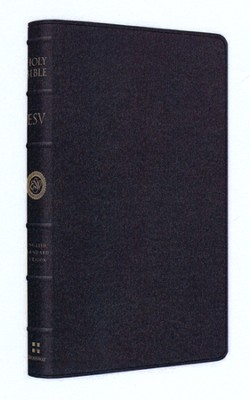 ESV Large Print Thinline Reference Bible, Limited Edition, Goatskin  -