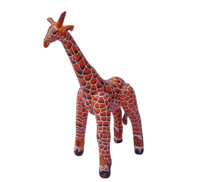 Giraffe Lifelike Inflatable Animal, 89 High 120 Long   -