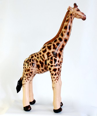 Small Giraffe Inflatable Lifelike Animal 36 High   -