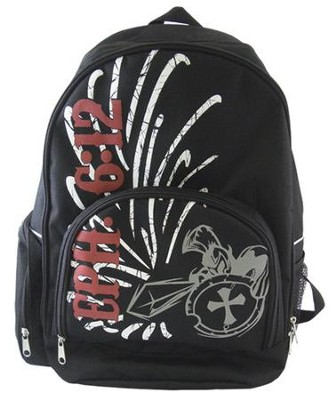 Ephesians 6:12 Back Pack   -