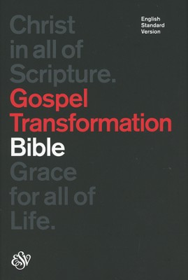 ESV Gospel Transformation Bible (Black)  -