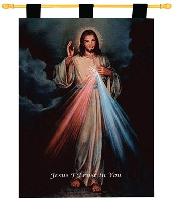 Divine Mercy Wallhanging  -