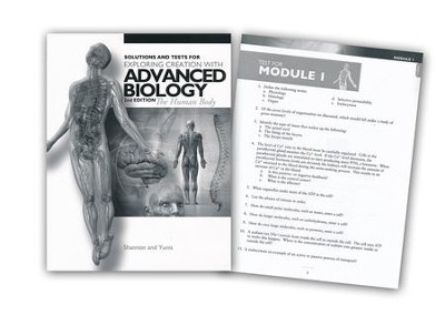 The Human Body (Advanced Biology), Solutions & Test Book, 2nd Edition  -