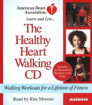 The Healthy Heart Walking Program: Walking Workouts for a Lifetime of Fitness - Audiobook on CD  -     By: American Heart Association