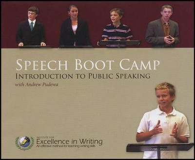 Speech Boot Camp: Introduction to Public Speaking-- DVDs with E-book  -     By: Andrew Pudewa