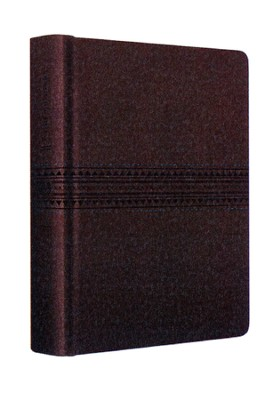 ESV Journaling Bible--soft leather-look, coffee   -